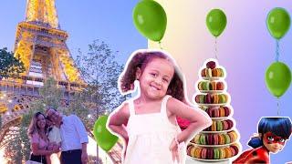 FESTA PARA OS FÃS EM PARIS: DIVERSÃO, DESAFIO, BAGUNÇA E MUITOS PRESENTES PARA FAMILIA | RÊ ANDRADE
