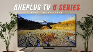 OnePlus TV U Series First Impressions!