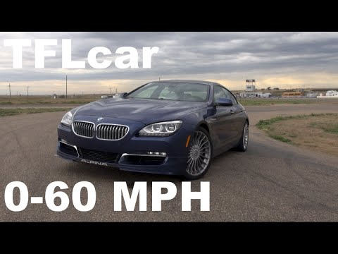2015 BMW Alpina B6 Gran Coupe 0 60 MPH Racetrack Review Does AWDLap Record