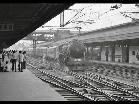 [HD] Legendary Trains!! Incredible INDIAN RAILWAYS : From The Steam Loco to The Modern Loco!!!