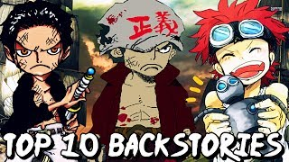 Top 10 Backstories That We Want To See In One Piece