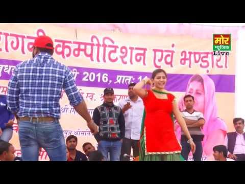 लाल सूट में सपना का डांस|| New Haryanvi Song 2016