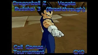 Dragonball Z Budokai 3 - Vegeta (Breakthrough) {Cell Games Tournament}