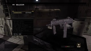 MP7A1 SMG America's Army Proving Grounds PS4