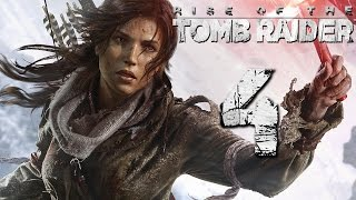 Прохождение Rise of the Tomb Raider Часть 4 Битва с Медведем