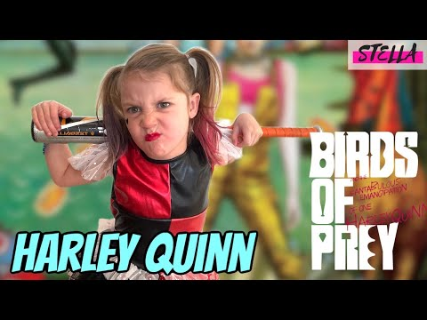 Stella becomes Harley Quinn!!! from YouTube · Duration:  4 minutes 30 seconds