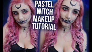 QUICK & EASY HALLOWEEN MAKEUP! Pastel Wicked Witch Tutorial! | Alex Dorame