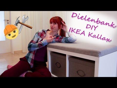 IKEA Hack Dielenbank / DIY mit Helena (Kallax Regal)