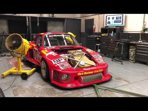 Paul Newman Porsche 935 on the Dyno  CarCast with Adam Carolla