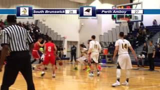 GMC Hoops Highlights--February 22, 2015--#5 Perth Amboy vs. #4 So. Brunswick--GMCT Elite Eight
