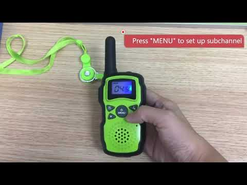 How to use Wishouse M8 Walkie Talkies ?