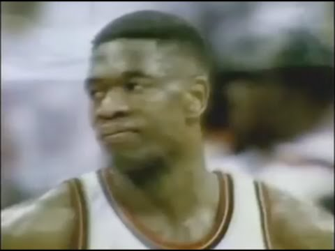 Dikembe Mutombos Finger Wag Backfires On Him Youtube