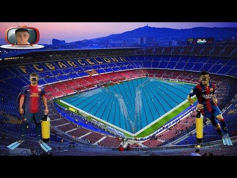 Simulación de penalits de Jordi Alba y Neymar JR