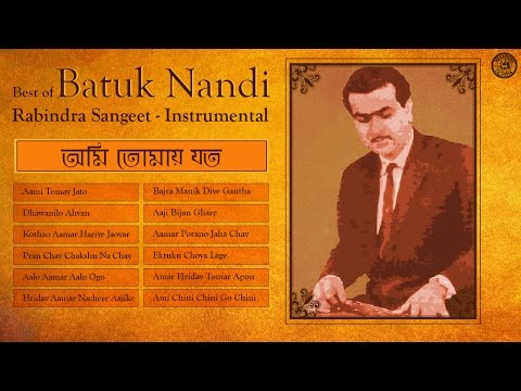 Rabindra Sangeet Instrumental Songs | Tagore On Strings | Best Of Batuk Nandi