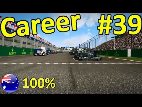 F1 2013 Melbourne 100% Career Mode Part 39: Australia