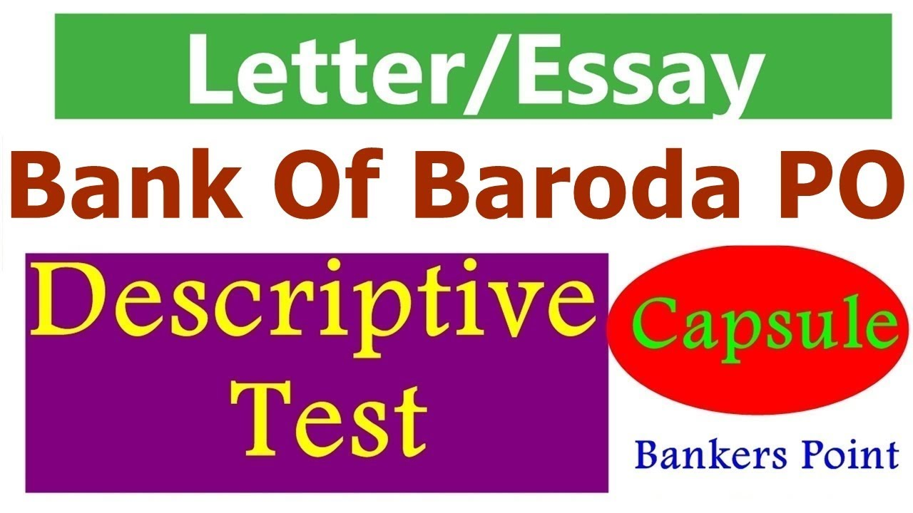 essay writing for ibps po