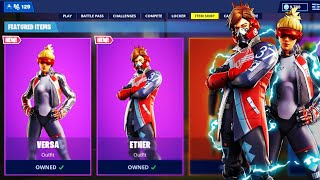 The New NEOCHASER SKINS in Fortnite!