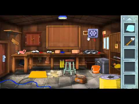 Escape Game Garage Escape _Level_01 Walkthrough