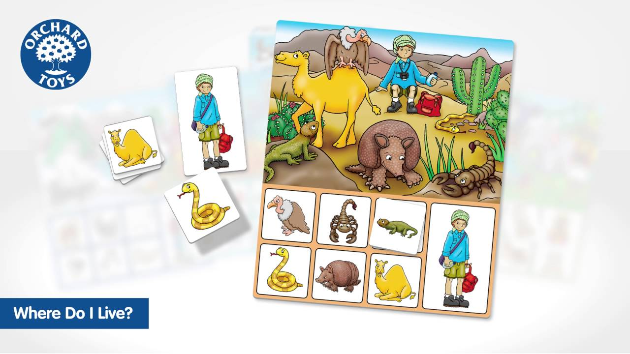Where Do I Live Game Is a fun animals of the world lotto, perfect for any budding explorers! where do i live game