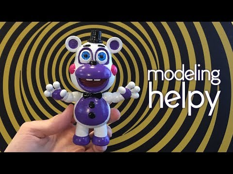 Making Helpy from Freddy fazbear's pizzeria simulator (FNAF 6)