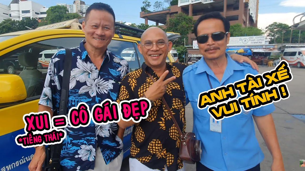 Chết cười học tiếng Thái cùng bác tài taxi Noi vui tính ở Chiang Mai
