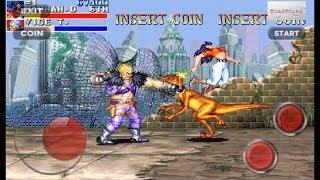 キャディラックス 恐竜新世紀 エピソード 1 シー・イン・ザ・シー - Hannah Dundee キャラクター - Capcom アーケードゲーム