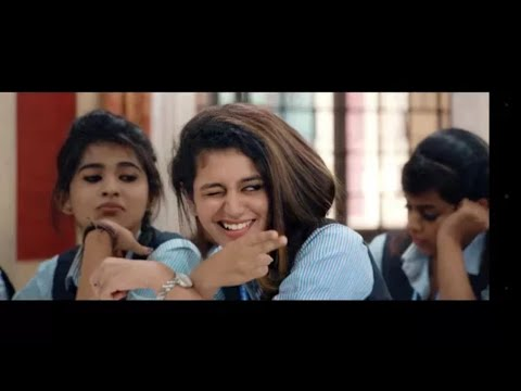 Priya prakash varrier official song || valentine day special thumbnail