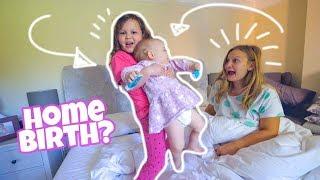 She wants a HOME BIRTH?!