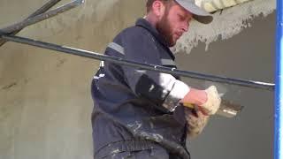 Как самостоятельно без помощников сделать базовый армирующий слой на фасаде дома минвата
