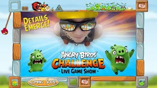 Angry Birds Challenge: The Live-Action Gameshow! - Angry Birds News!