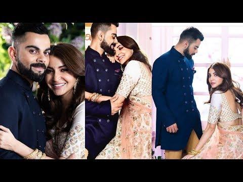 Viray Kohli and Anushka Sharma look royal on their first Wedding anniversary