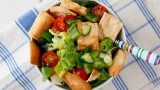 Fattoush Salad - Healthy Side Dish Recipes - Weelicious