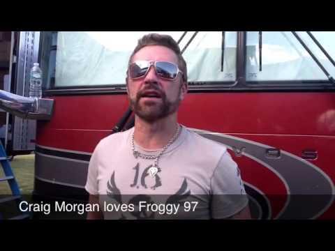 Craig Morgan Loves Froggy 97