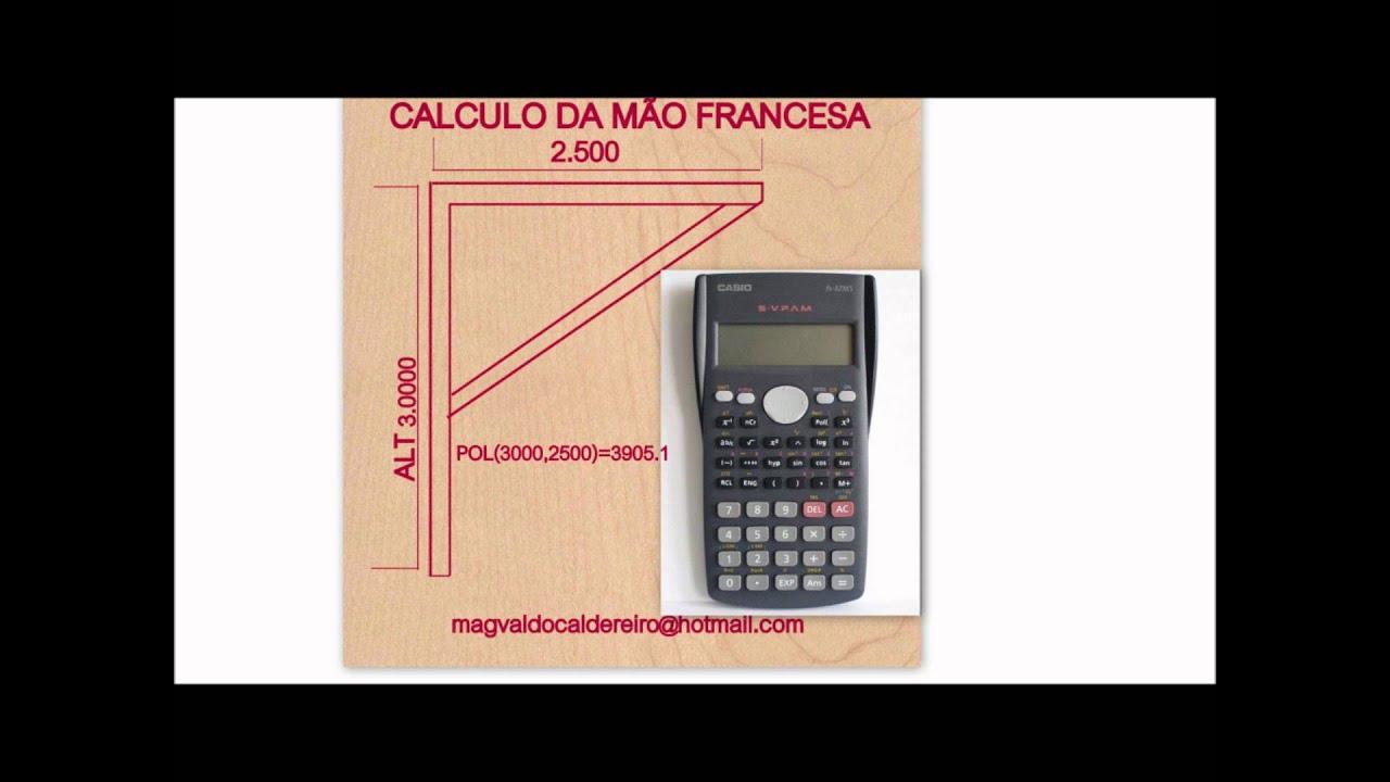 CALCULO DA MÃO FRANCESA E GRAUS   #941B38 1440x1080