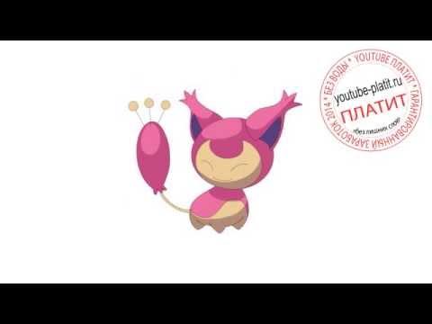 видео: Покемоны как происходит эволюция картинки Скитти  Как поэтапно рисовать покемонов skitty