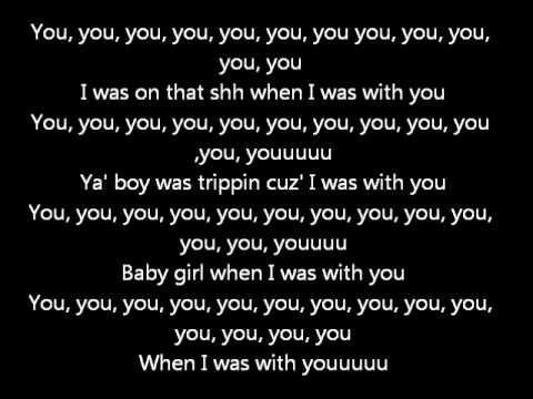 Chris Brown - You (Lyrics on screen) karaoke Exclusive