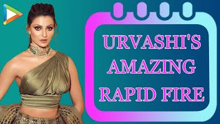 Urvashi Rautela's SUPERB Rapid Fire | Salman ...
