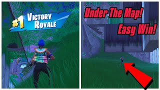Win Any Game Easily With This Under The Map Glitch In Fortnite (New) Fortnite Glitches Ps4/Xbox/PC