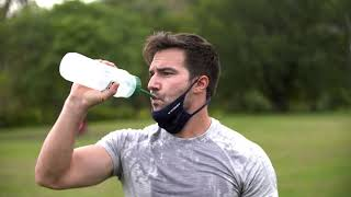 MISSION Face Sports Mask Official Commercial