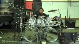 Christmas Eve/Sarajevo 12/24 by the Trans-Siberian Orchestra TSO Drum Cover by Myron Carlos