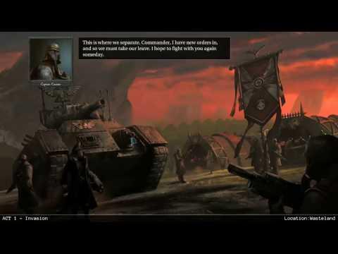 Warhammer 40000 Armageddon campaign part 10 Battle on Diabolus part 1 |