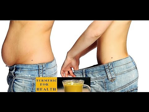 Turmeric with Warm water for weight loss |  5 Reasons to drink turmeric water  every morning