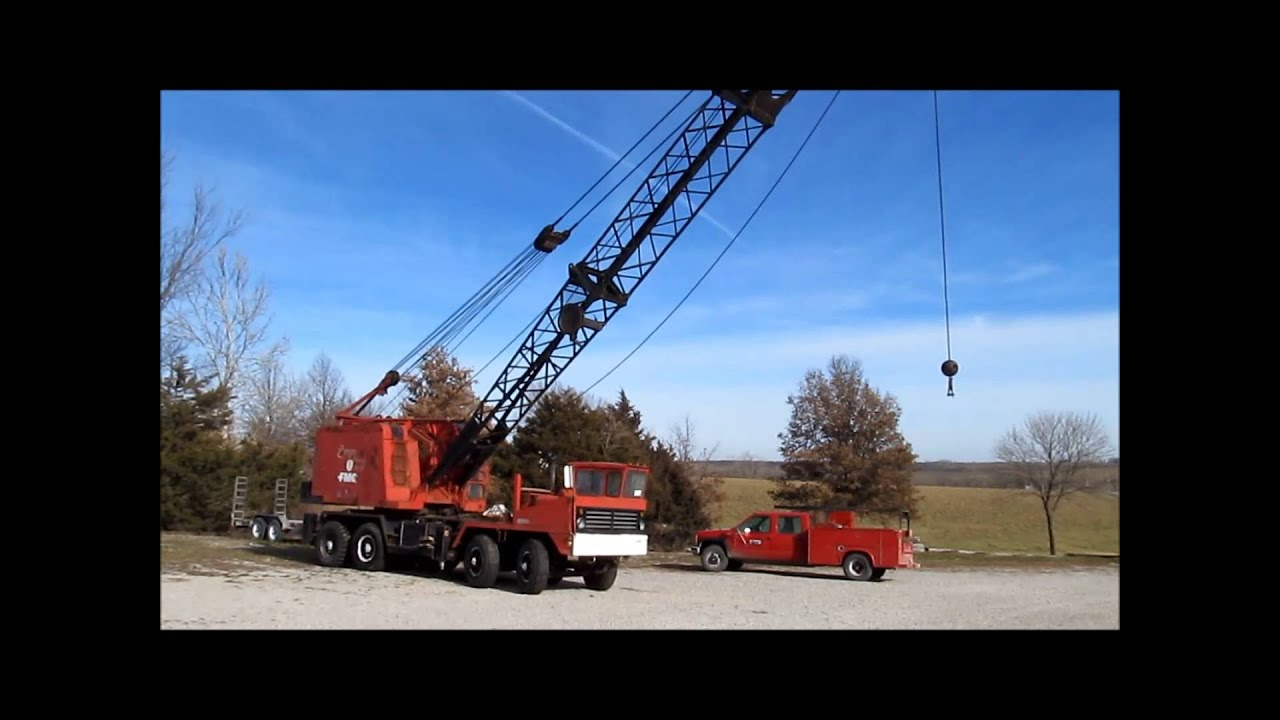 Crane Truck For Sale >> 1967 Link-Belt HC78A truck crane for sale   sold at ...