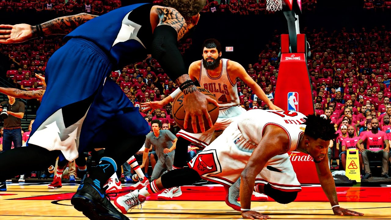Exposed Exposed Jimmy Butler Got His Ankles Broken In The Finals Nba 2k17 Mycareer Playoffs Nfg3 Youtube