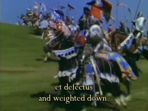 O Fortuna - Carmina Burana - Carl Orff - Latin, English - Knights