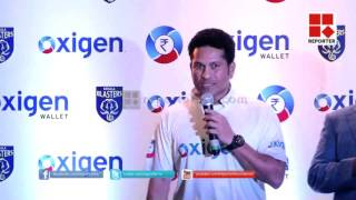 Blasters Kid Fans with Sachin Tendulkar