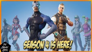 FORTNITE BATTLE ROYALE: SEASON 4 BATTLE PASS OVERVIEW!