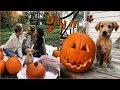 Vlogtober Day 11 // Girls Dates, Pedicures, and Pumpkin Carvings!