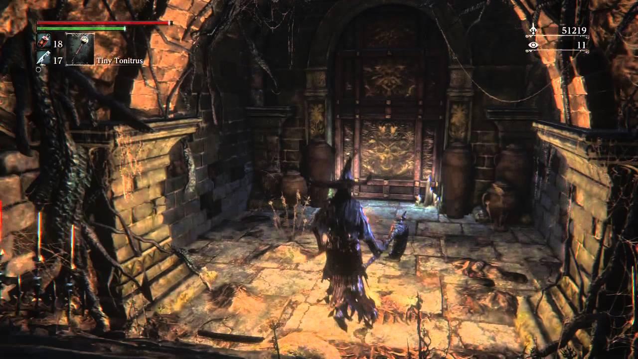 Bloodborne chalice dungeon secret door & Bloodborne chalice dungeon secret door - YouTube