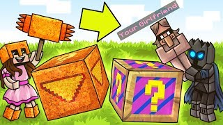 Minecraft: MEMES VS DORITOS LUCKY BLOCK CHALLENGE! - Modded Mini-Game